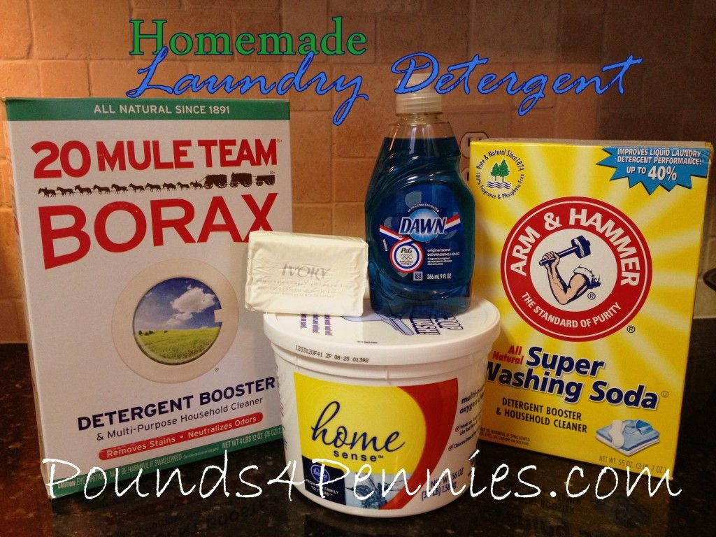 Powerful Homemade Laundry Detergent Recipe Homemade Laundry