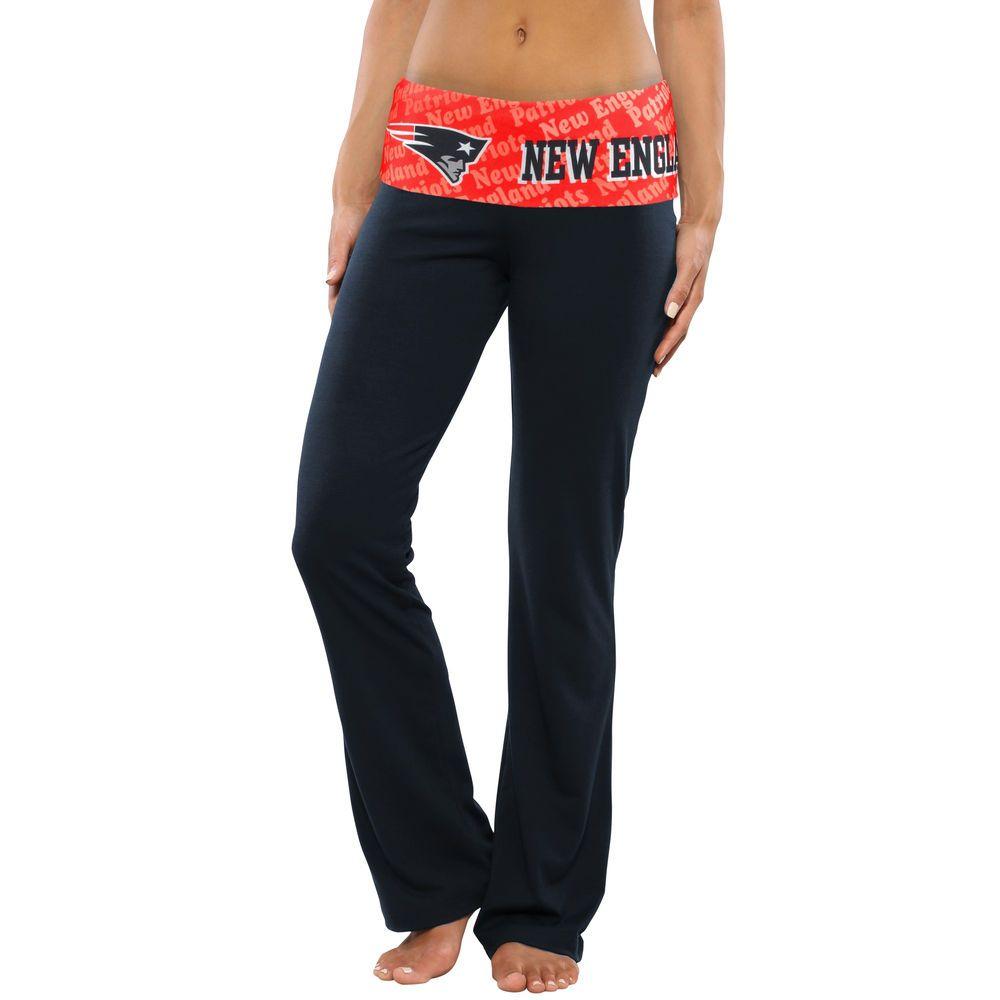 Women's New England Patriots Navy Blue Cameo Knit Pants