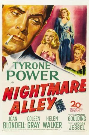 El Callejon De Las Almas Perdidas Ed Dvd 791 73 Gou Tyrone Power Carteles De Cine Almas