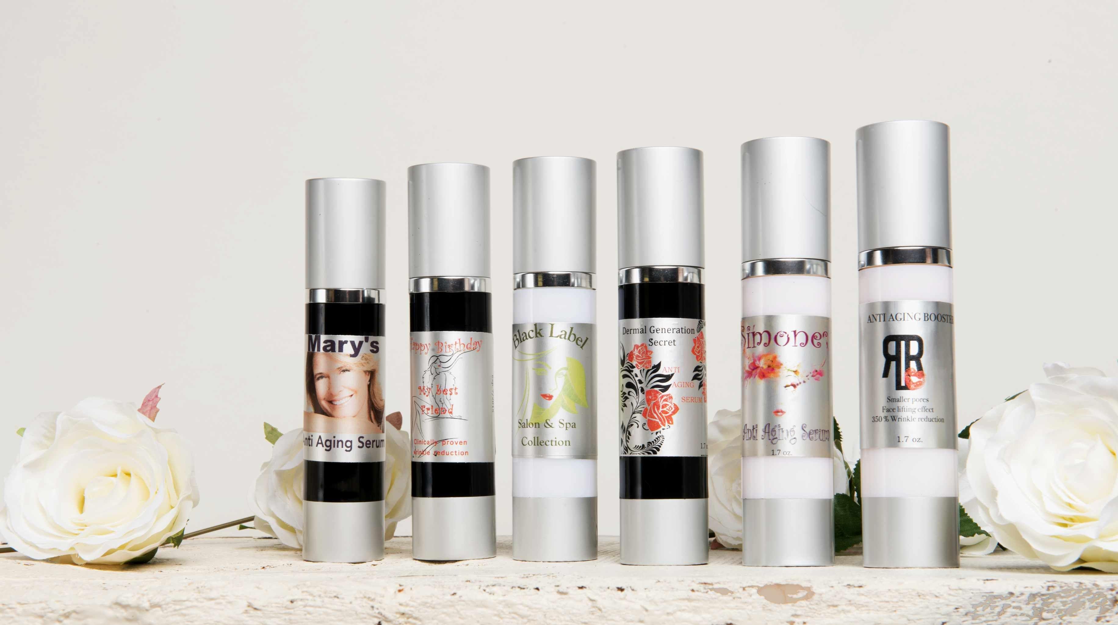 Private Label Serum Anti Aging Body Lotions Diy Cosmetics Serum