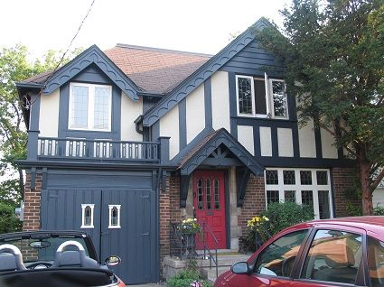 High Park Painters In 2019 Exterior Remodel House House Paint Exterior Tudor House
