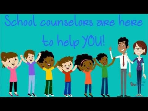 School Counselors Who Are They What Do They Do Youtube School