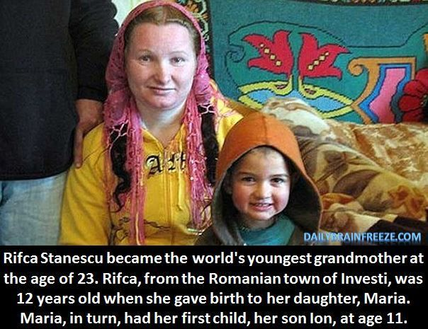youngest grandmother
