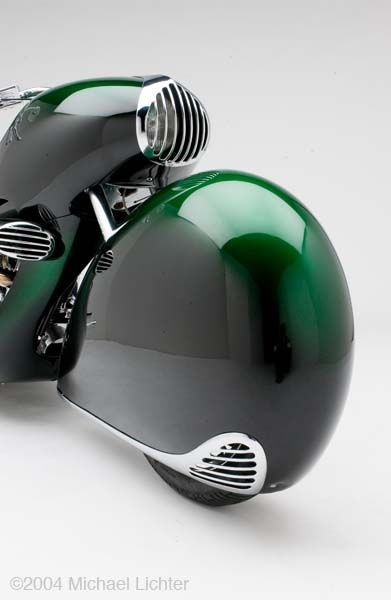 If Ettore Bugatti had been diverted away from car design and into motorcycles this is almost certainly what he would have built.