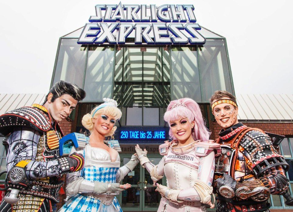Starlight Express Bochum Honestly All I Want Out Of Life Now Is To Be A Fantastic Roller Skater And Evolve Into My True Form A Roller Skaters Bochum Starlight