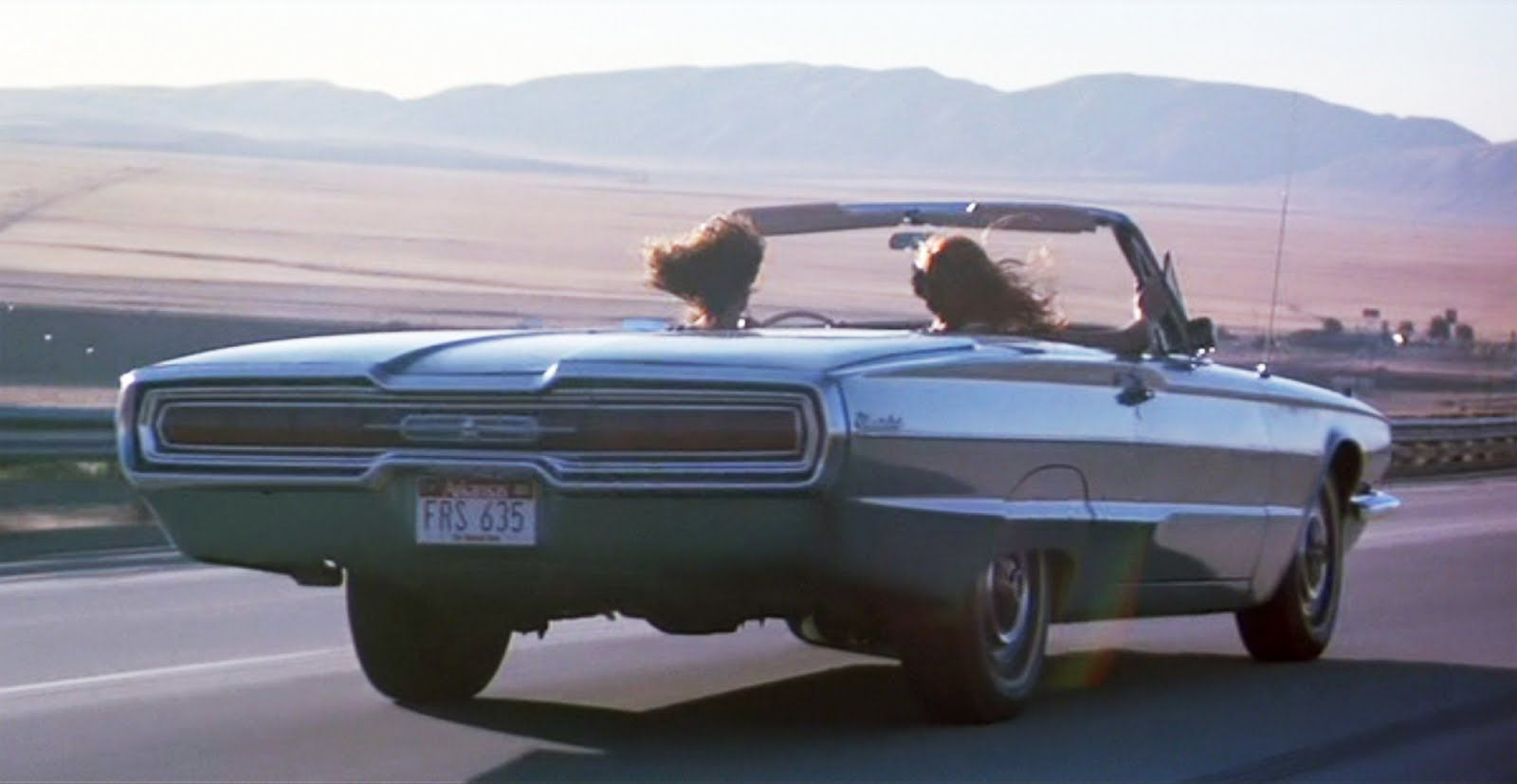 Thelma louise ridley scott 1991 ford thunderbird convertible 1966