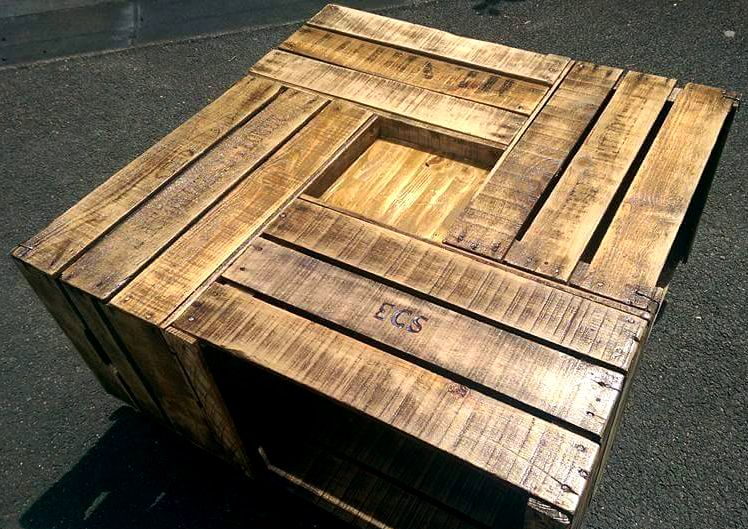Realisations En Photos Adopteunecaisse In 2020 Coffee Table Wood