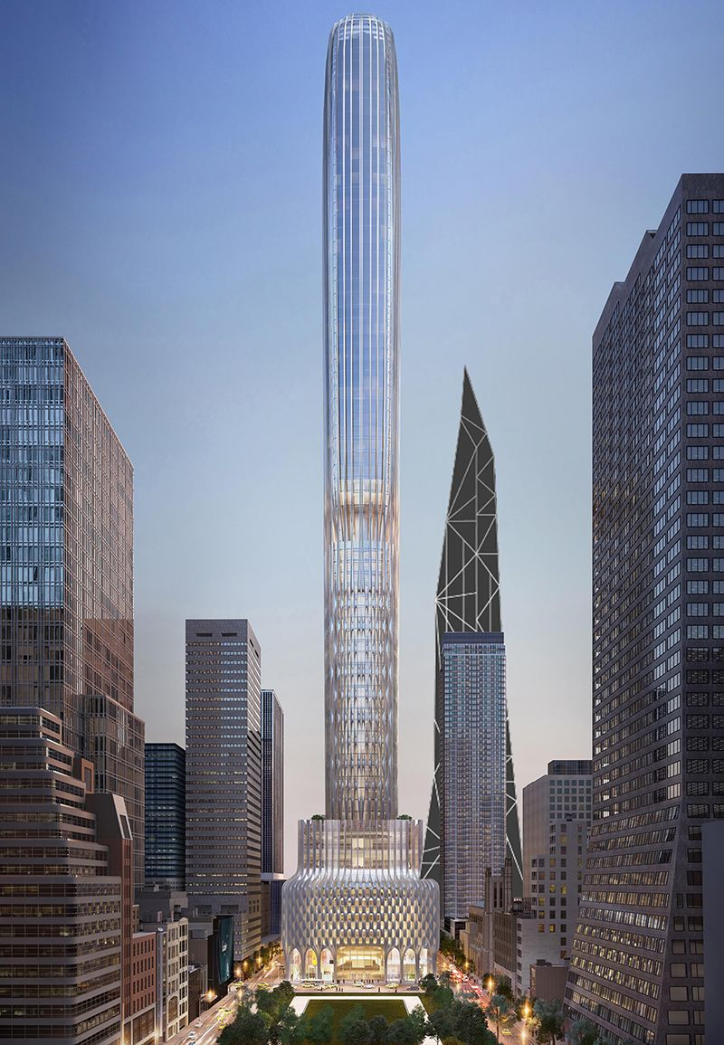 New York 666 5th Avenue 427m 1400ft 100 Fl Pro