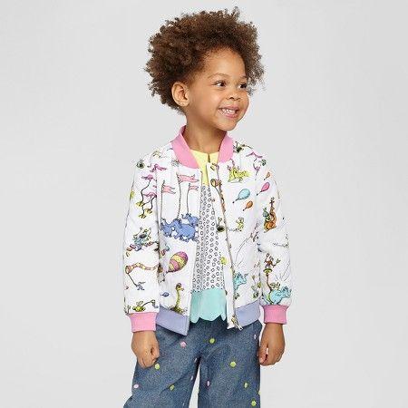 b79027150 Toddler Girls  Dr. Seuss Bomber Jacket Genuine Kids™ from OshKosh ...