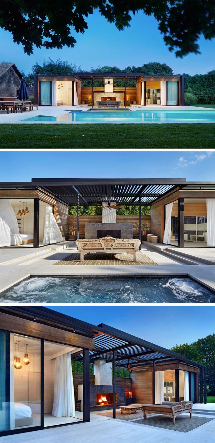 Swimmingpool im Garten – 11 Traumhäuser mit modernem Design