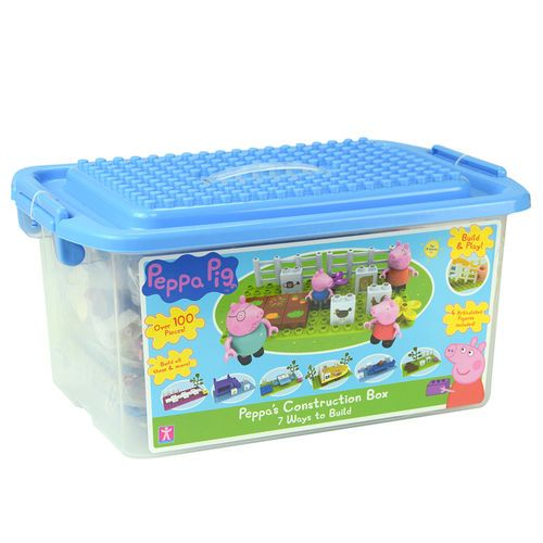 Peppa Pig Peppau0027s Construction Box  sc 1 st  Pinterest & Peppa Pig Peppau0027s Construction Box | Baby girls | Pinterest | Baby ...