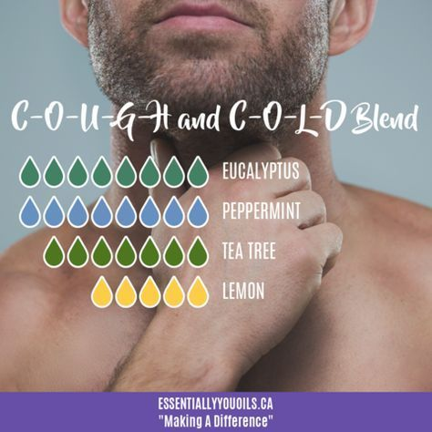 Essential Oil Blends For Cough, Cold & Flu