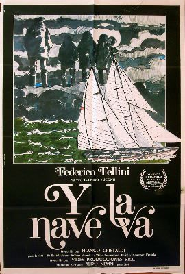 AND THE SHIP SAILS ON 1983 Federico Fellini