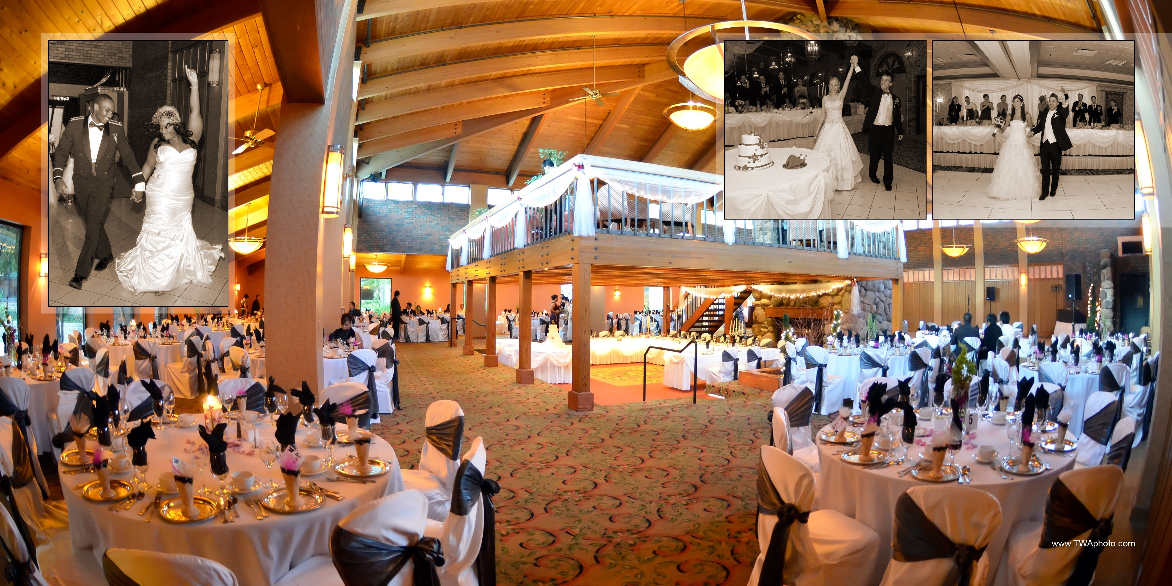 Rustic Wedding Venue At The William Tell Countryside Il Black