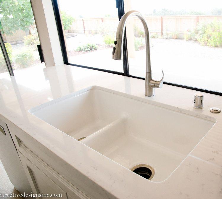 Kohler White Iron Tones Sink