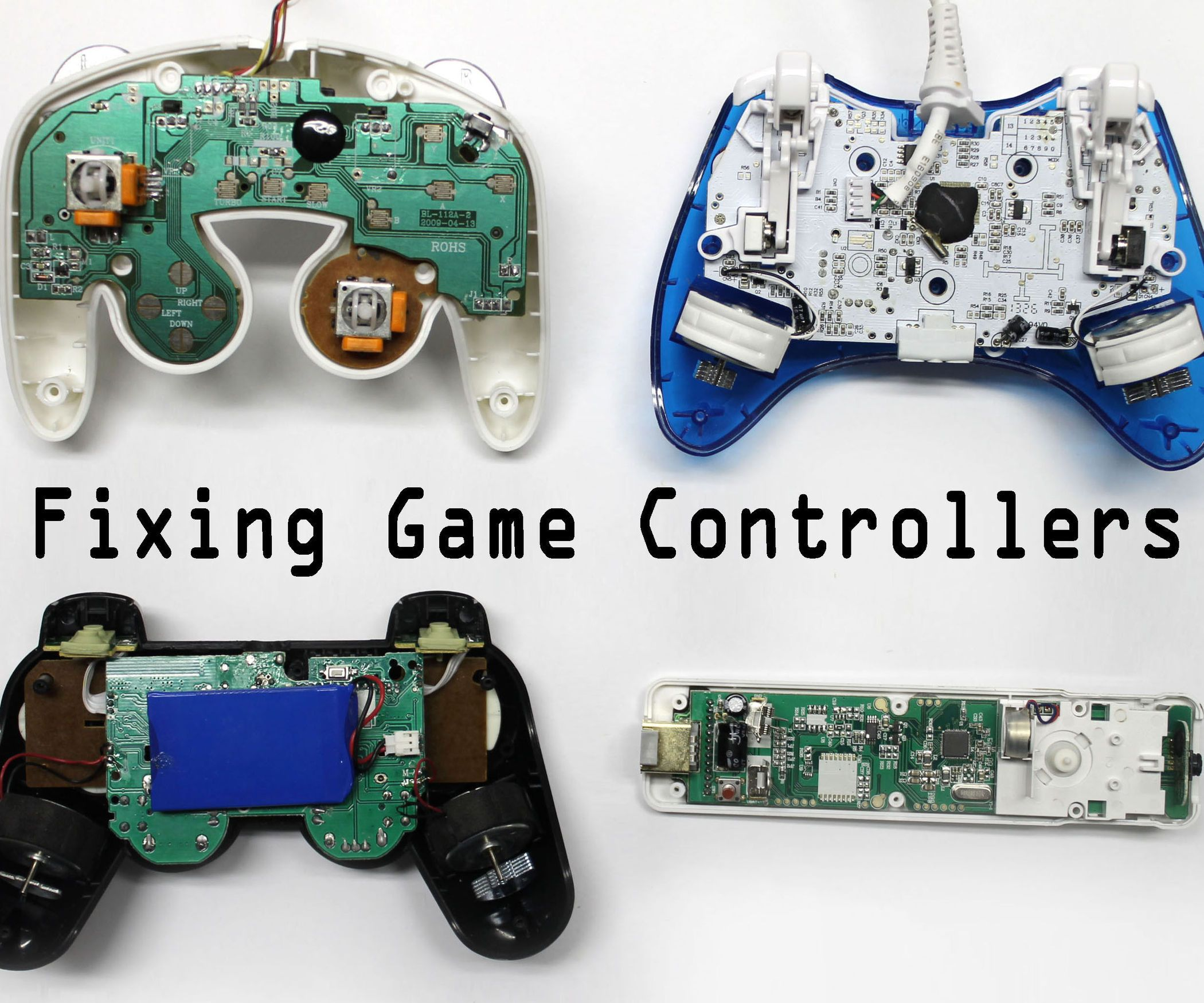 Fix Any Video Game Controller Game Controller Video Game Controller Gamecube Controller