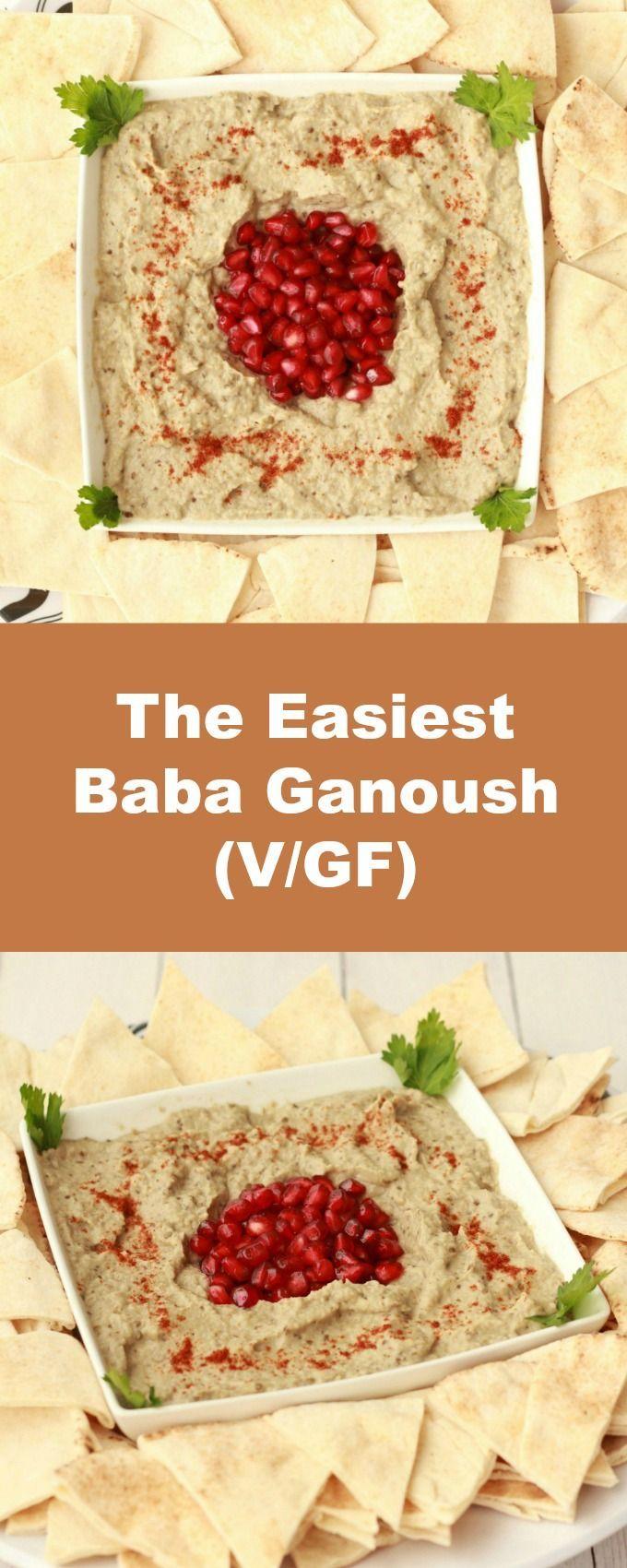 The Easiest Baba Ganoush #babaganoushrezept