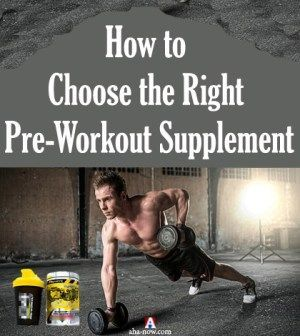 Do you workout? Taking #supplements prior to #workout give you energy. Here are the factors and some...