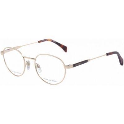 5eeea77fa365c Óculos De Grau Tommy Hilfiger 1309 Dourado