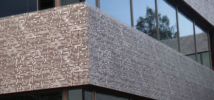 Perforated Metal Sheet For Facade Cladding Aluminum
