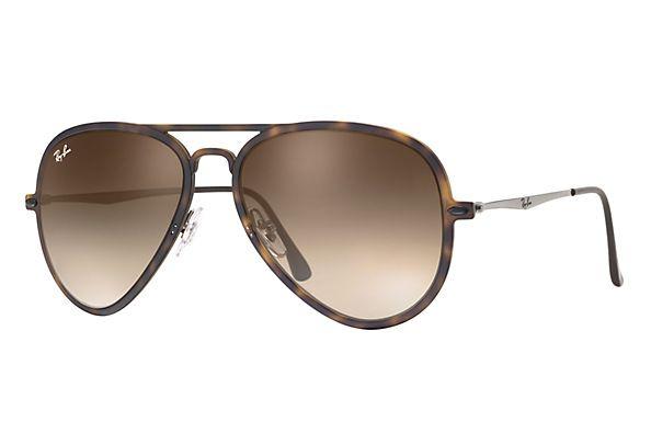 3a8ccfe3a8 Ray-Ban RB4211 646 55 56-17 Aviator Light Ray Ii Sunglasses