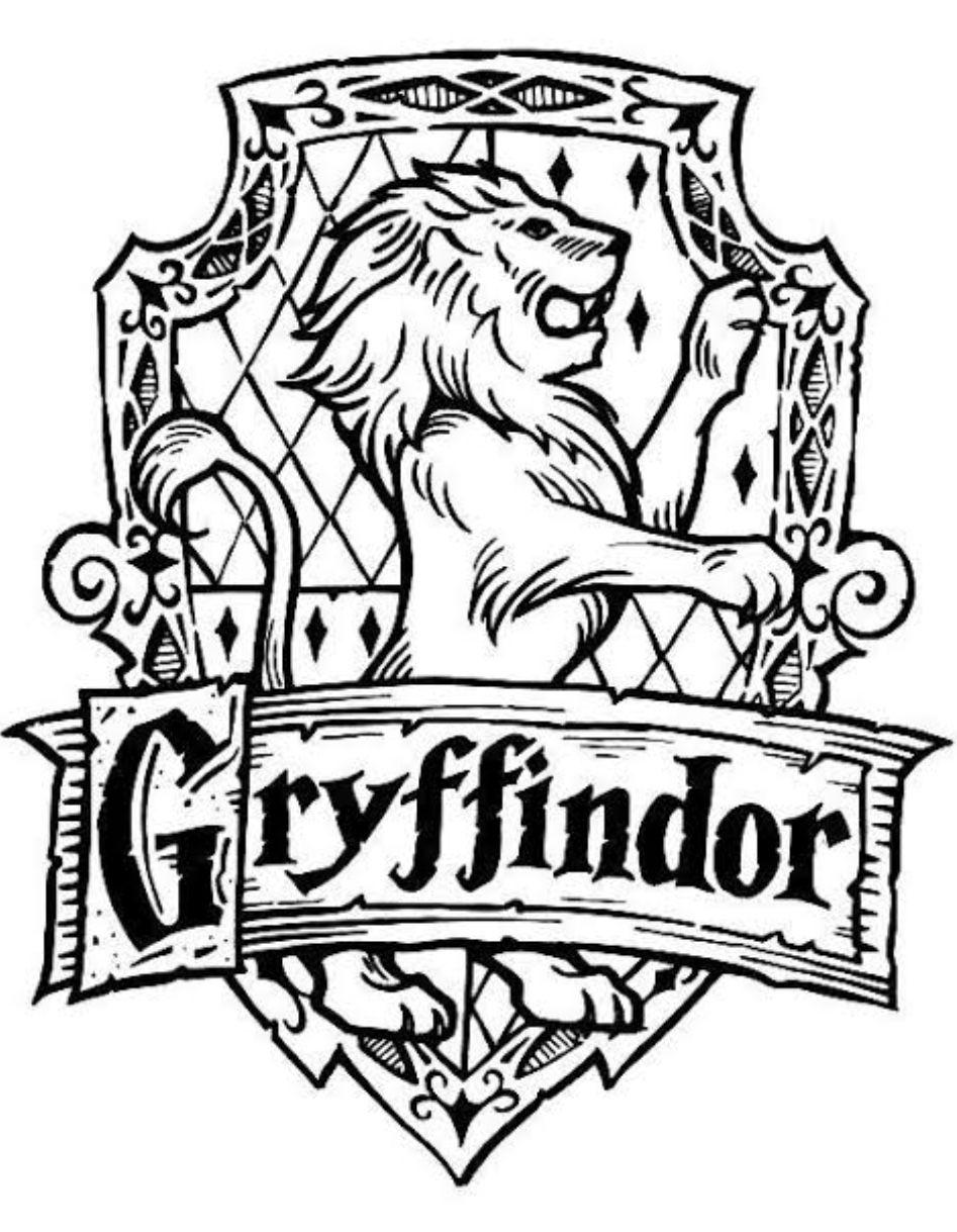 ️I love You gryffindor ️ Çizilecek şeyler, Harry potter