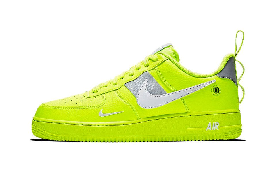 nike air force 1 verde neon