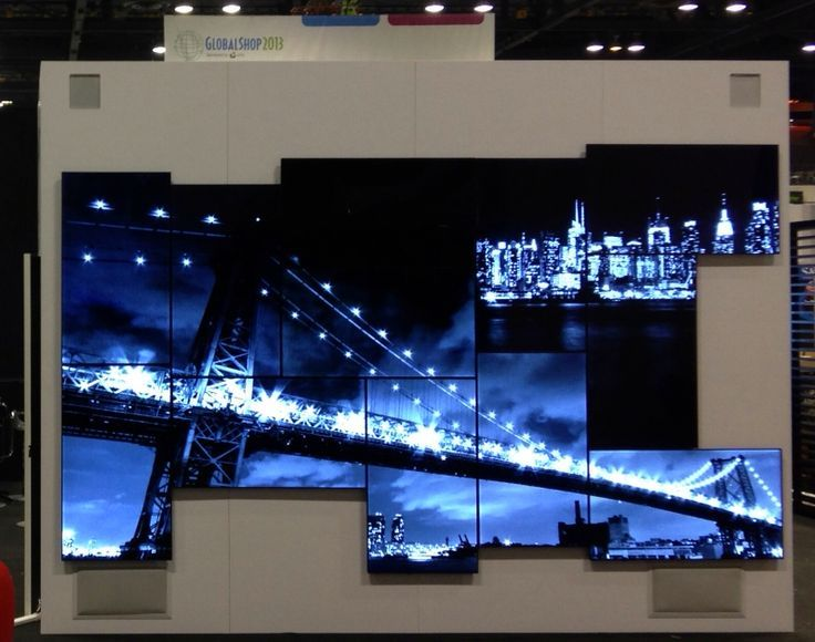 Image result for walt disney exhibition video wall curved