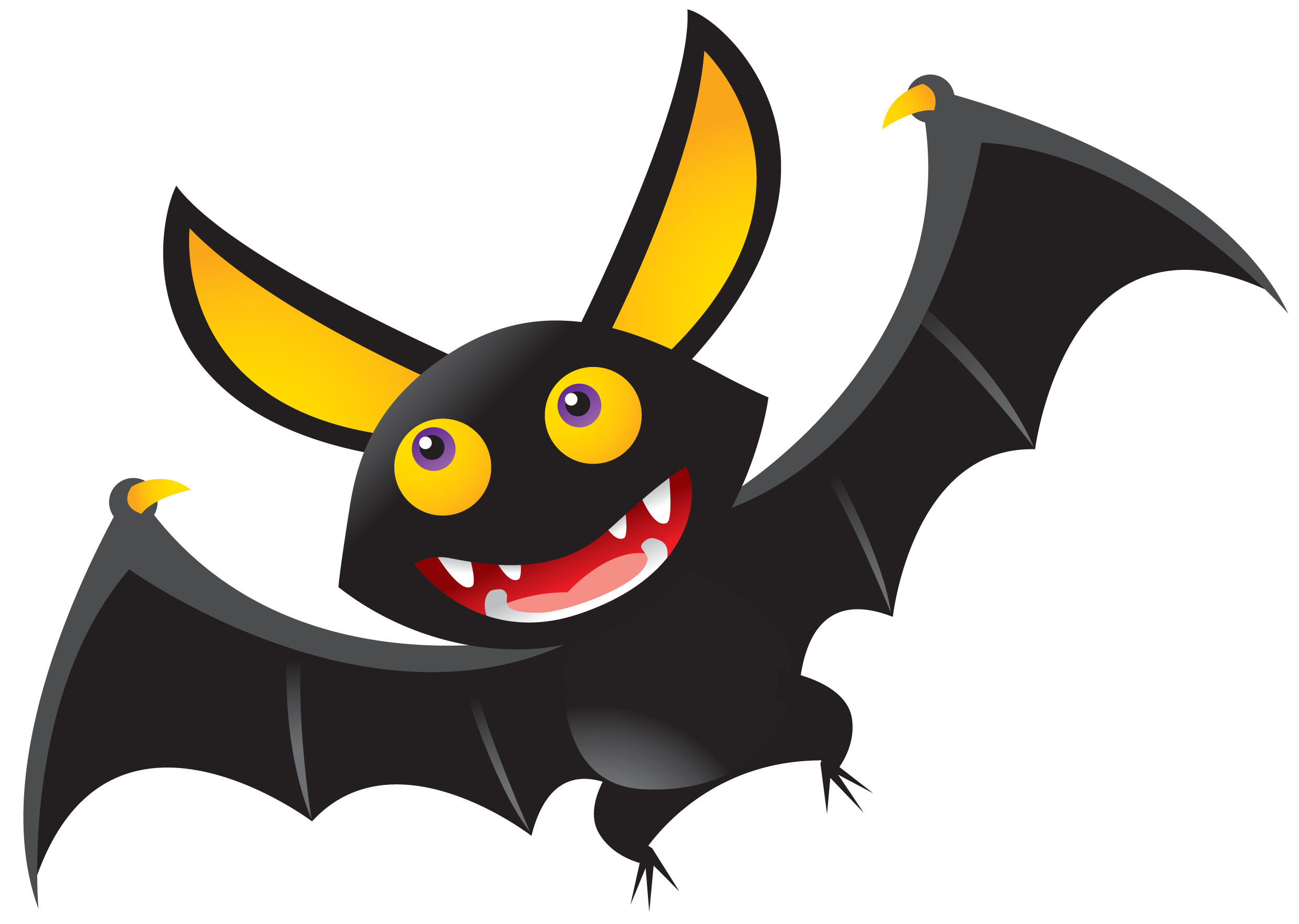 free happy halloween clip art cliparts co halloween clipart rh pinterest com halloween bat clipart png clipart of halloween bat