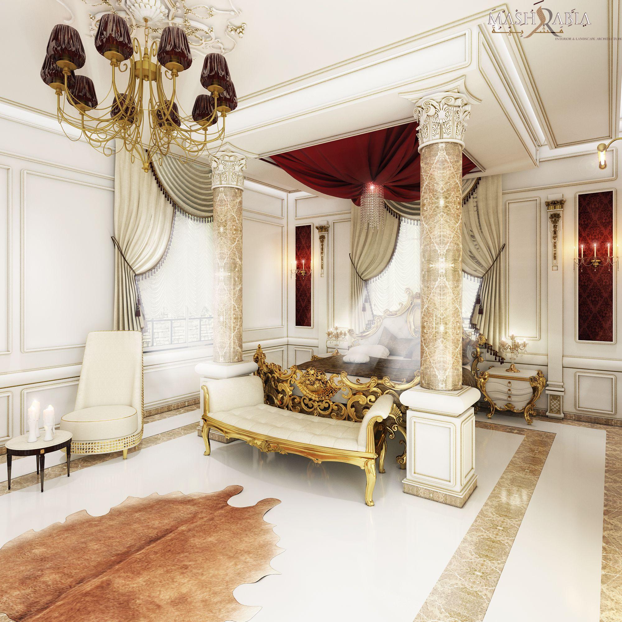 Royal Bedroom #Royal #Bedroom #Luxury #Palace #Classic | KSA Palace ...