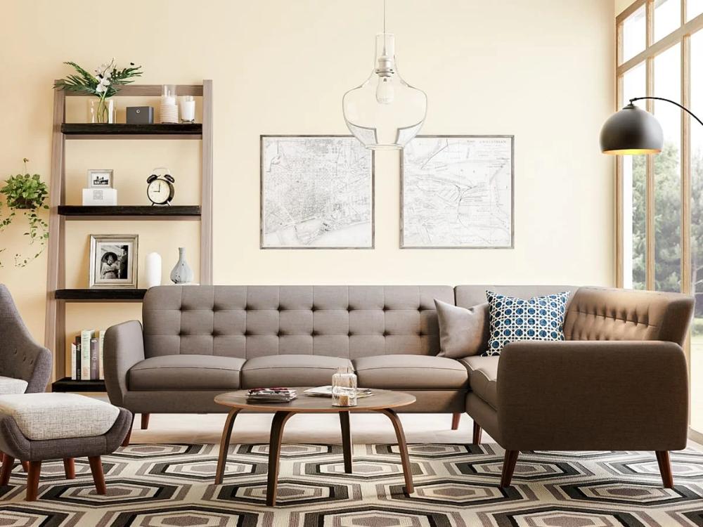 20 midcentury modern living room ideas  overstock in