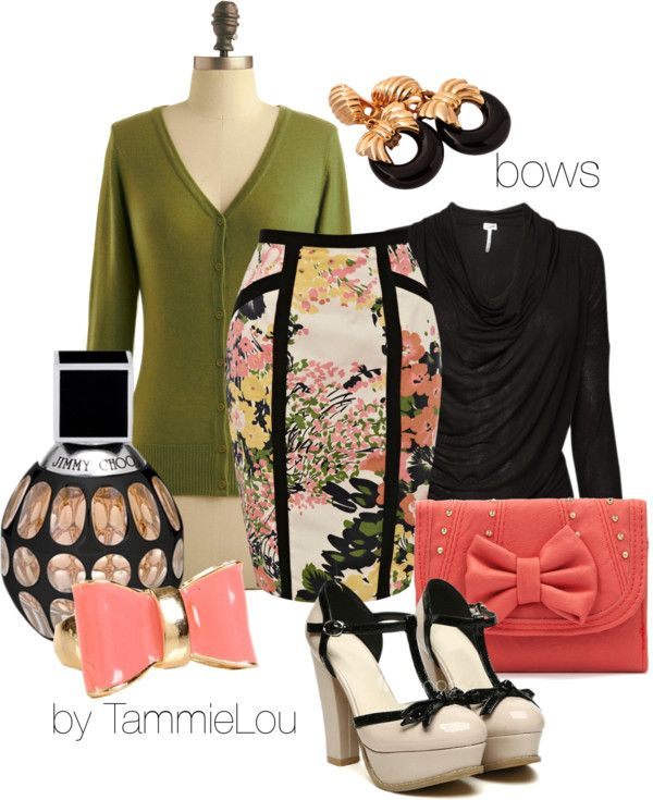"""""""bows"""" by tammielou1958 on Polyvore"""