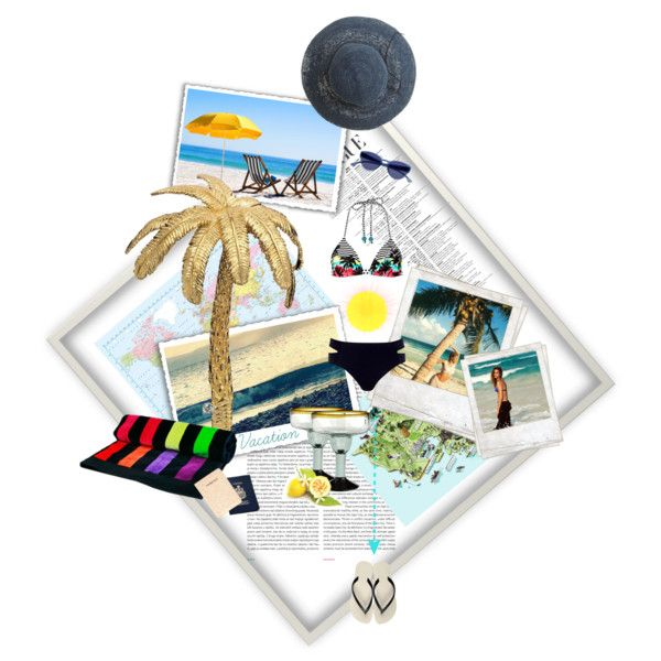 Beach Fashion, created by belldraw on Polyvore