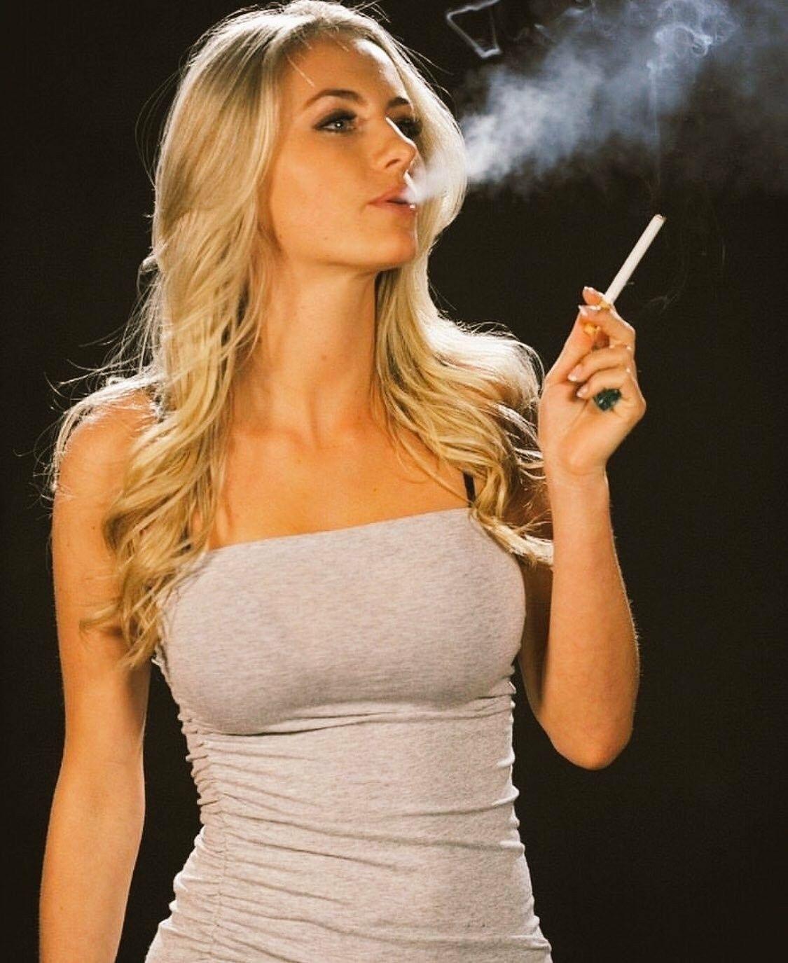 Sexy Hot Smoking Fetish