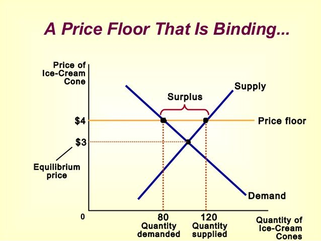 Pin By Jimmy Chaturavichanan On Non Binding Price Floor Macroeconomics Equilibrium Binding
