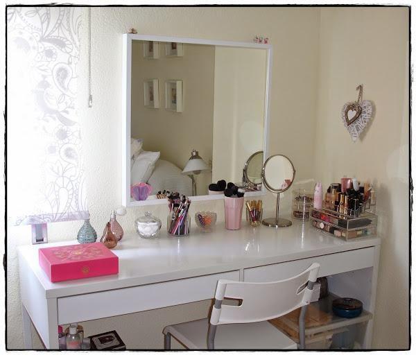 tocador eficiente y ordenado mi tocador y organización del maquillaje