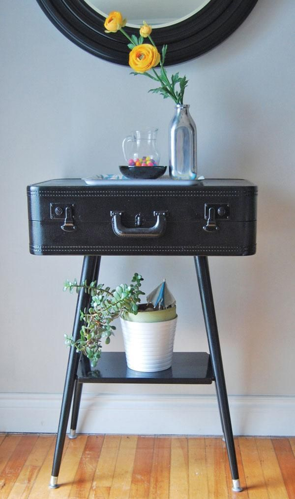 Diy Vintage Suitcase Projects Diy Furniture Decor Old Suitcases