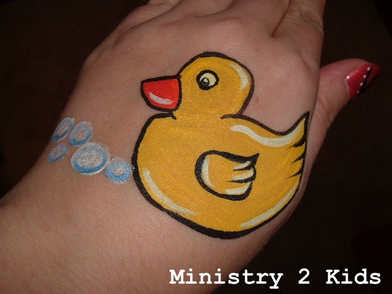 Rubber Duck -- Face Paint...from Ministry 2 Kids | Face Painting ...