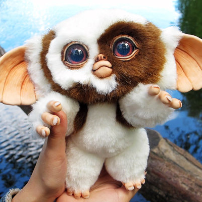 Baby Mogwai Gizmo Nostalgia Gremlins Gizmo Cute
