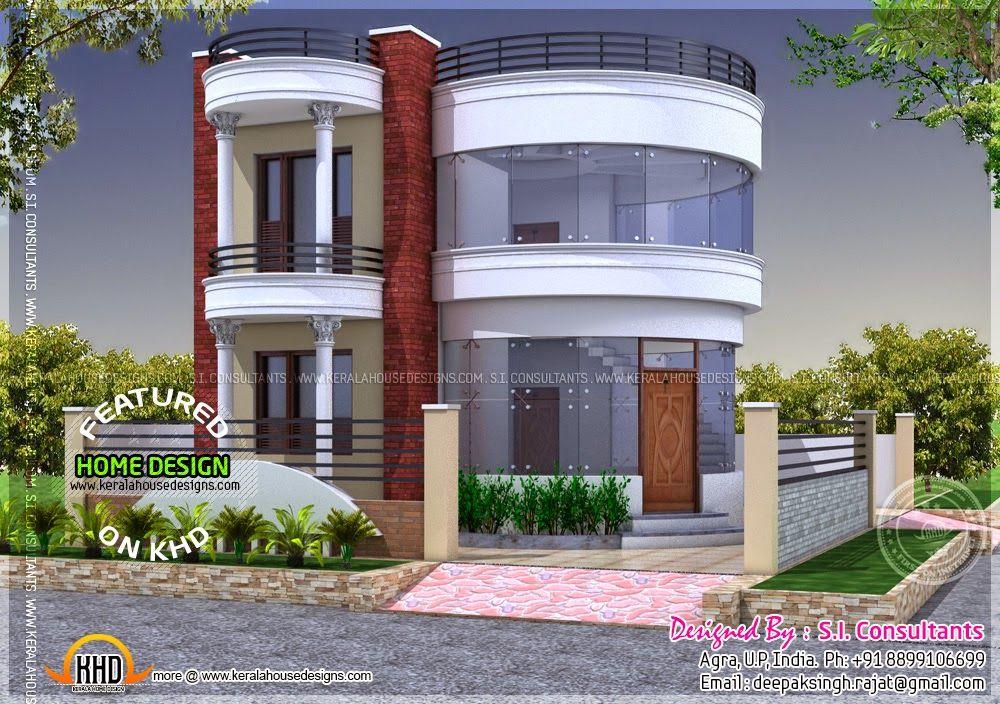 Round House Design Kerala House Design Beautiful House Plans Unique House Design