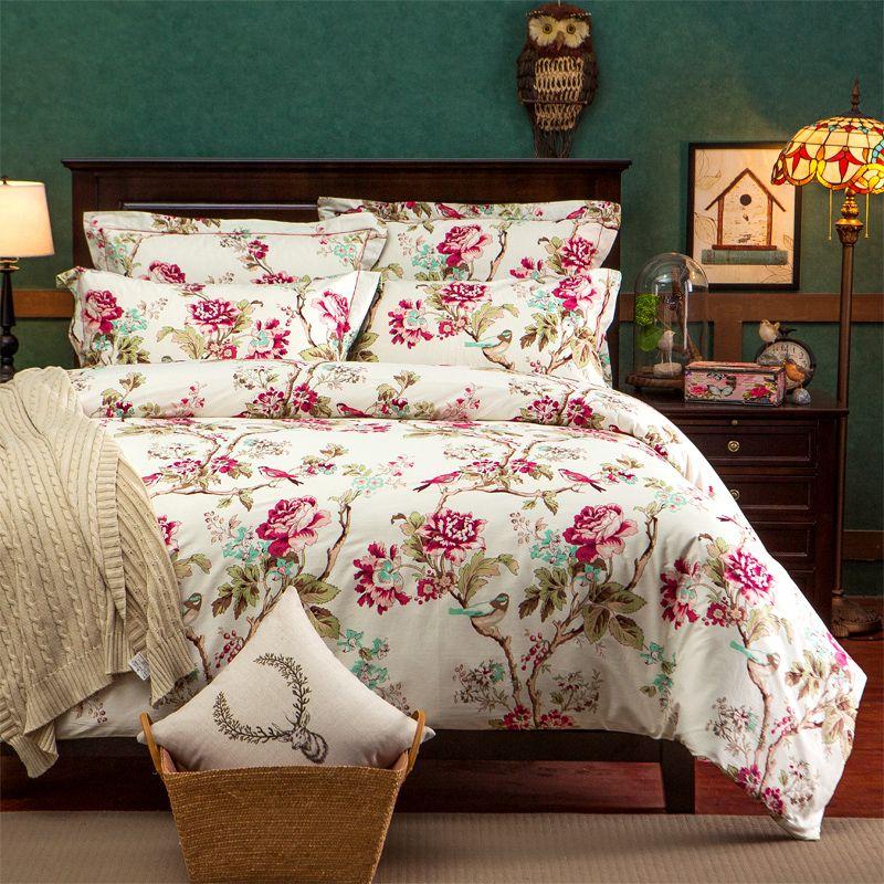 pas cher 4 pcs ensemble de literie super king size. Black Bedroom Furniture Sets. Home Design Ideas