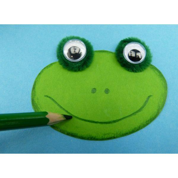 Frosch basteln Bastelidee von trendmarkt24 Frosch
