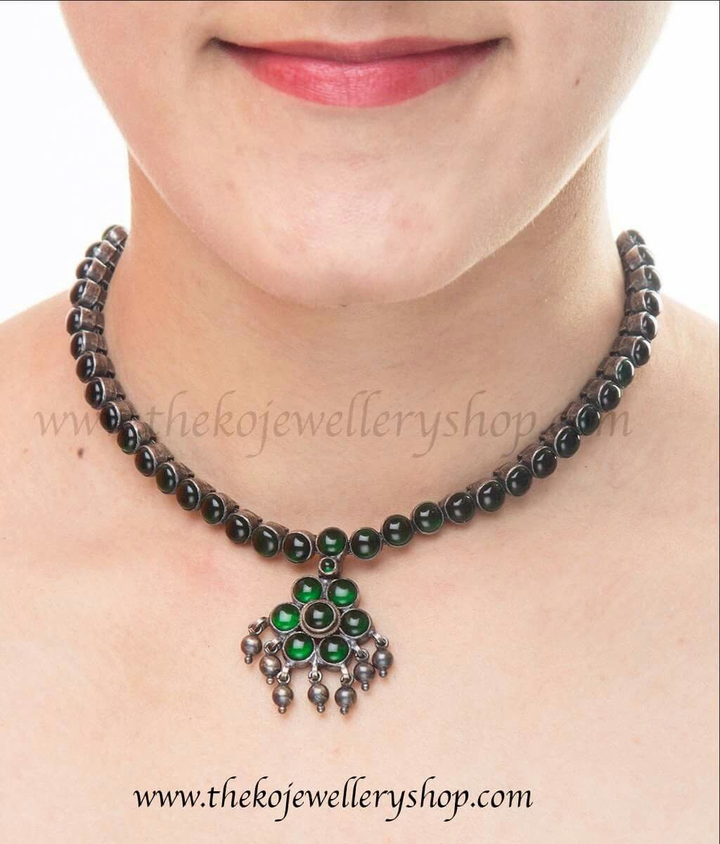 Pin by teju reddy on silver jewellery pinterest silver jewelry