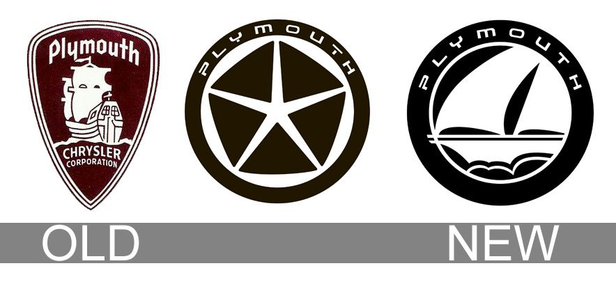 Plymouth Logo Evolution Logo Voiture Pinterest Plymouth Car