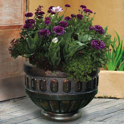 Photo of Premium Cast Stone Pot Planter