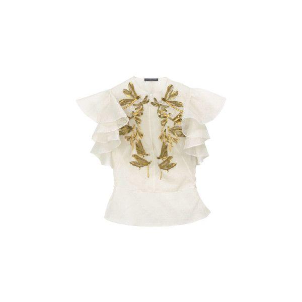 アレキサンダー マックイーン(ALEXANDER McQUEEN)|Item... ❤ liked on Polyvore featuring tops, blouses, shirts, alexander mcqueen, alexander mcqueen tops, shirts & tops, alexander mcqueen shirt and shirts & blouses