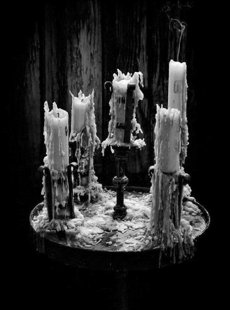 Design Gothic Candles i love intensely melted candles so lovely my heart is dark lovely