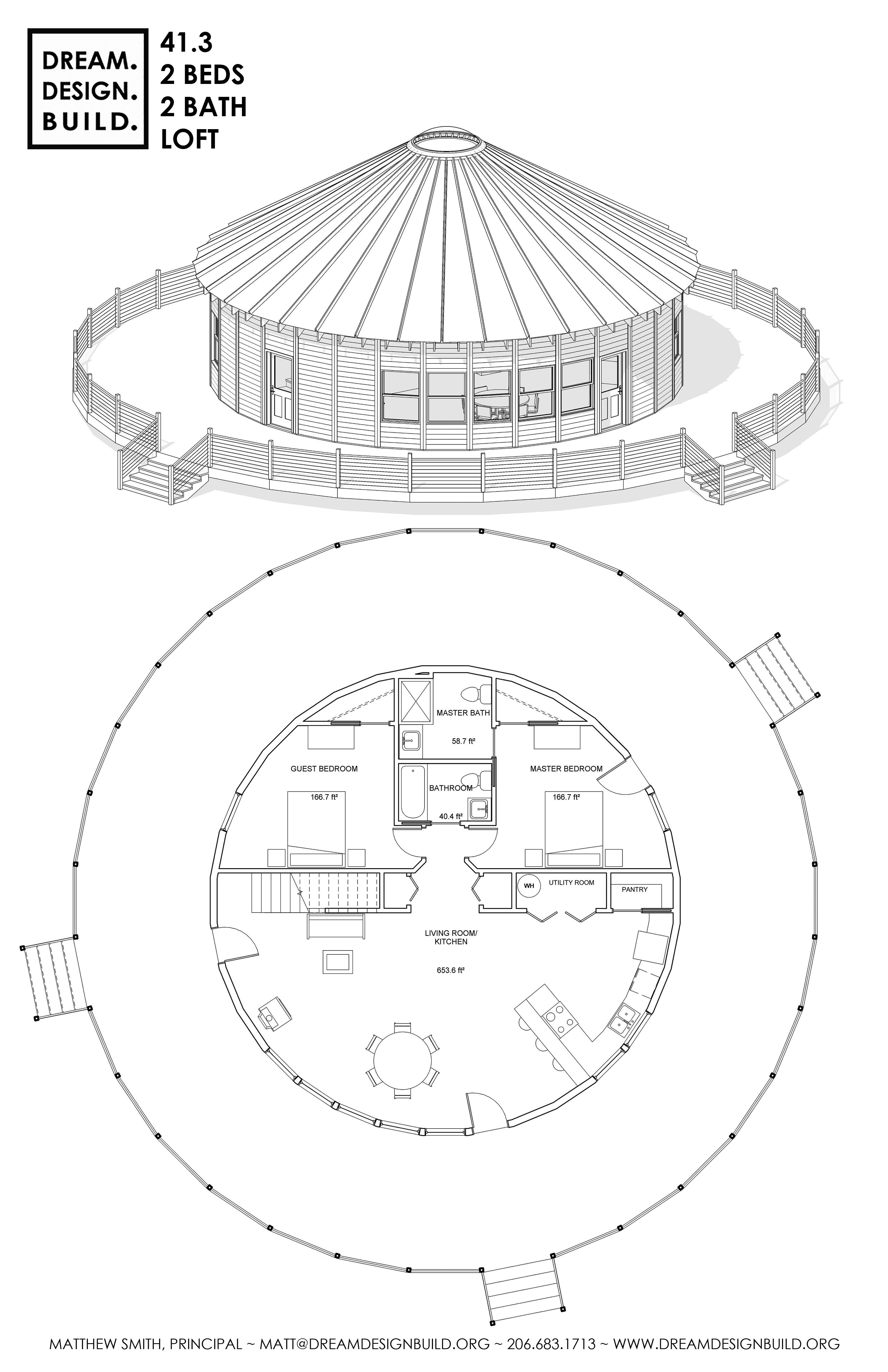 Épinglé sur Yurt Designs