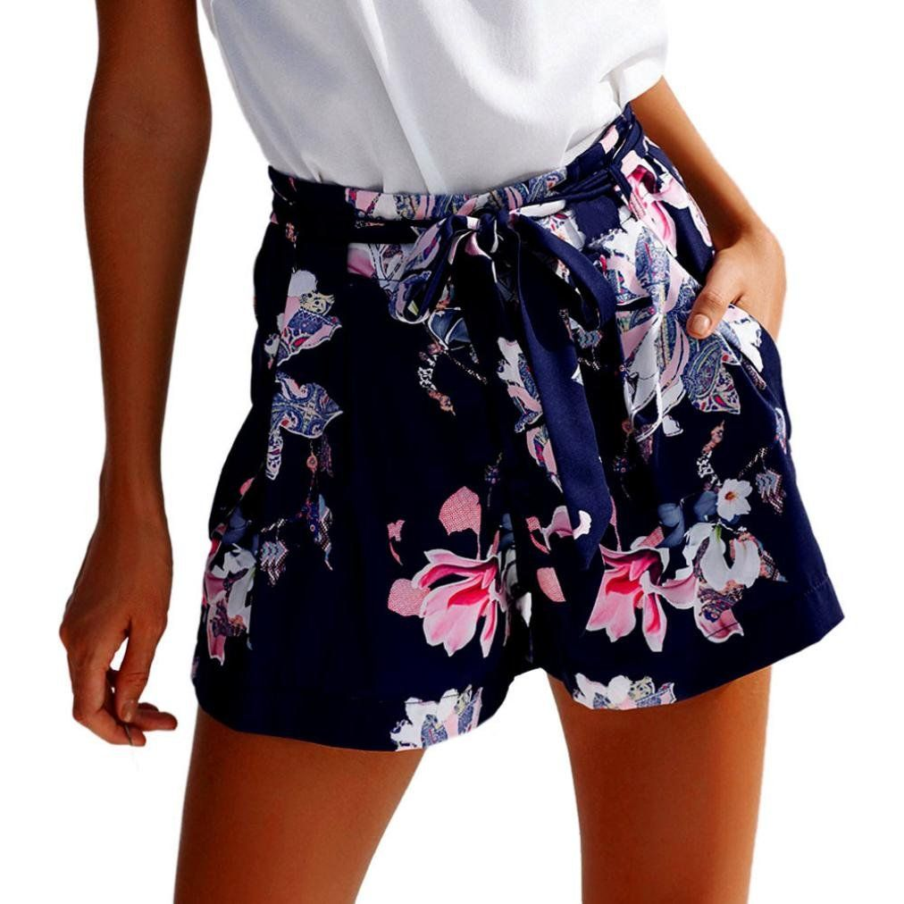 020a4d966 pregnancy workout - Sexy Hot Pants for Women Casual Floral Shorts High  Waist Short Trousers Summer >>> Take a look at the picture by going to the  web link.
