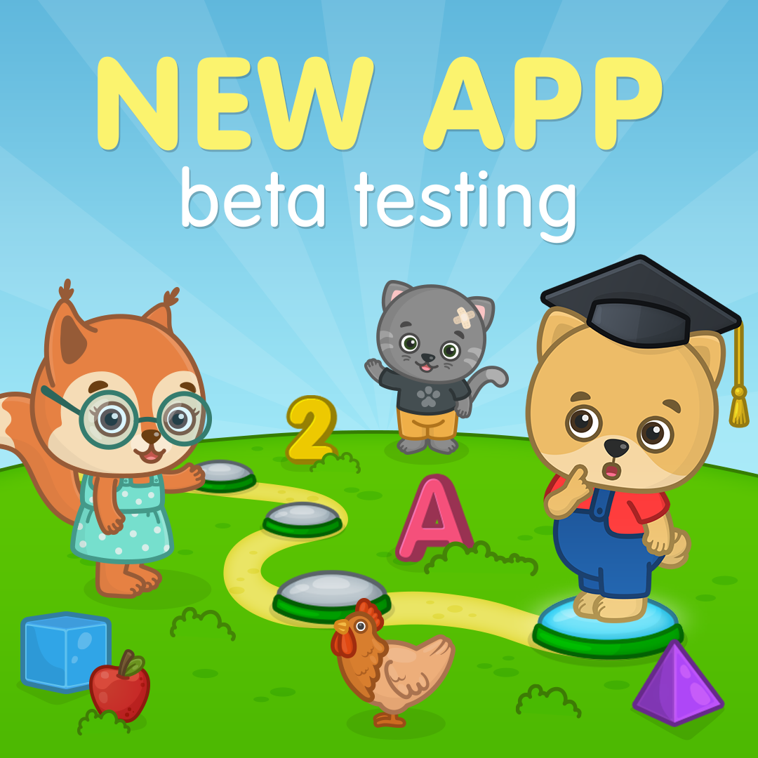 A New Amazing App From Bimi Boo Is Coming Soon It Is An App With Over 1000 Educat Educational Apps For Toddlers Educational Activities For Kids Beta Testing